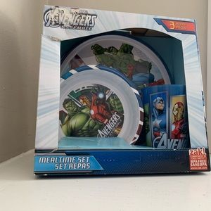 Other - Zak Design Avengers 3-Piece Mealtime Set